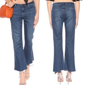 NEW • 3x1 • Midway Extreme Cropped Bell Jeans Dot